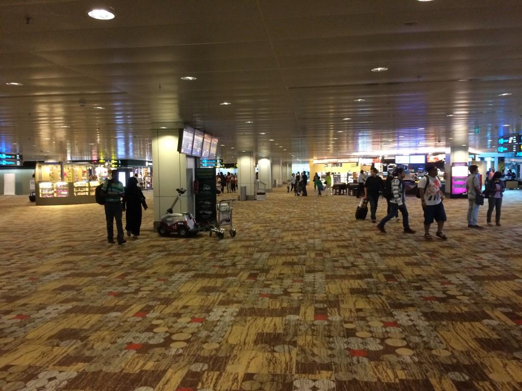 Холл аэропорта Чанги